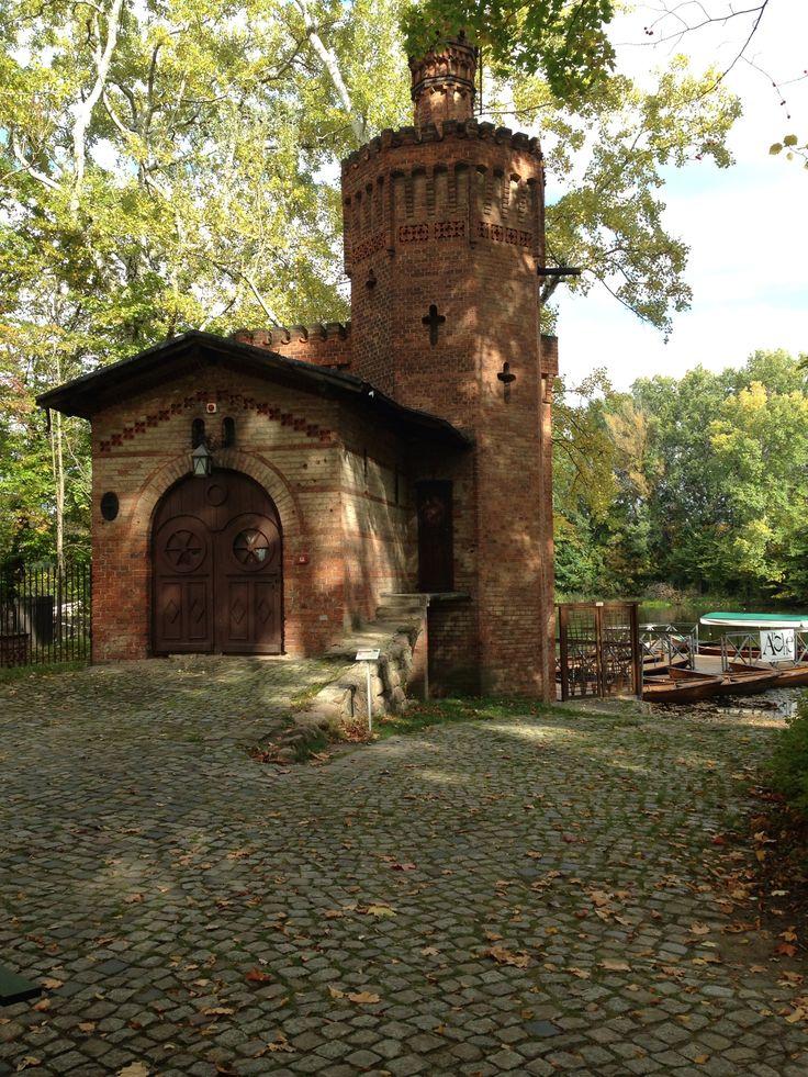 The Boathouse. Wilanow Palace, Warsaw.
