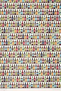 """Beer Run Wrapping Paper. $3.50 Size - 20"""" x 30""""."""