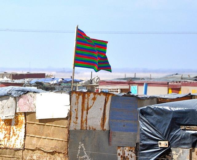 SWAPO flag, Namibia
