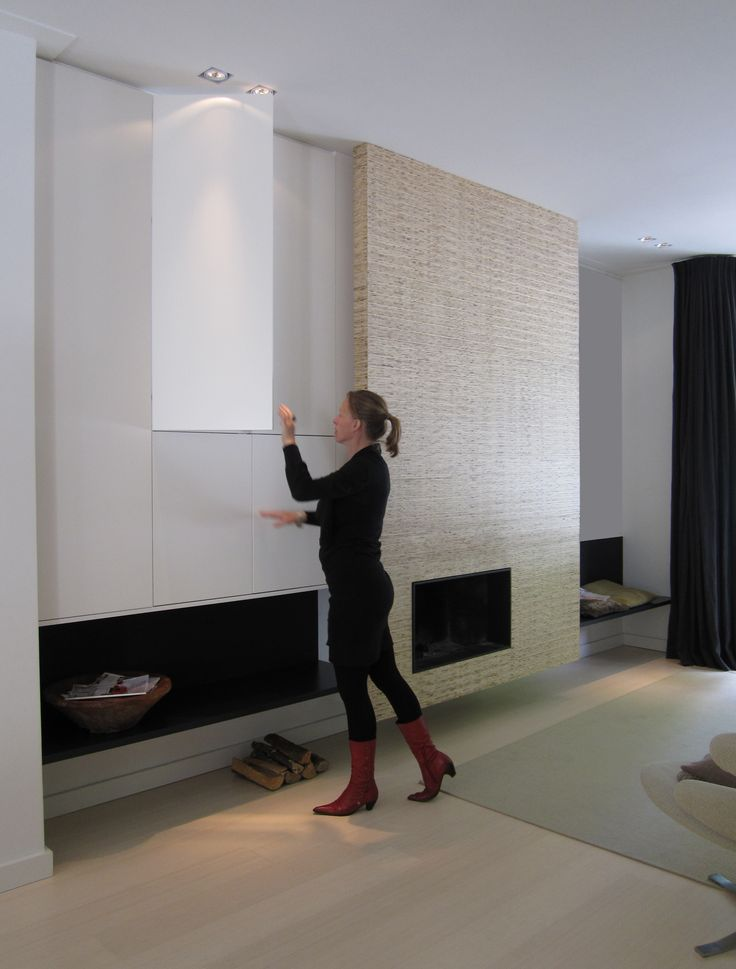 studio-ei -- Interieurontwerp & Meubelontwerp, woning Amsterdam; haardontwerp, meubelontwerp, kastontwerp, lichtplan. www.studio-ei.nl