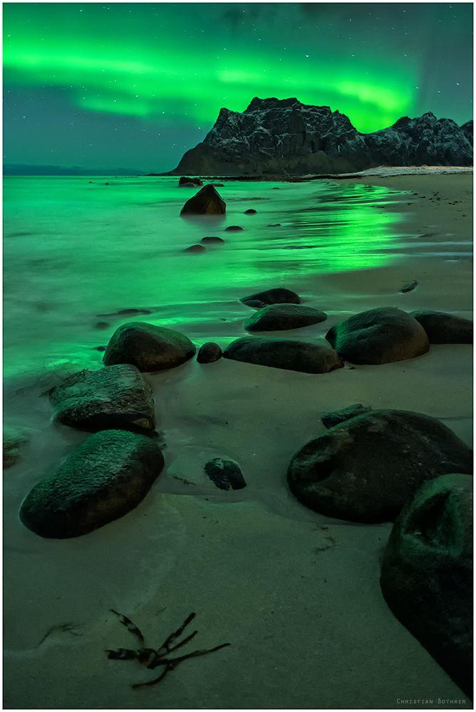 Polarlichter Island