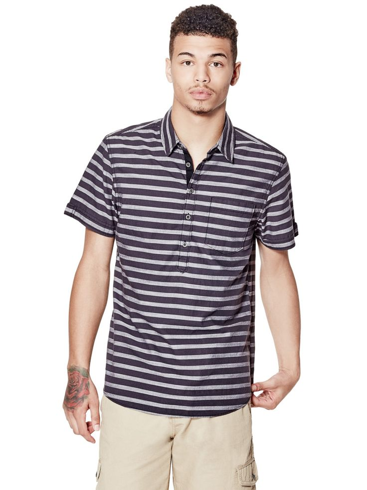 Cardenas Slim-Fit Striped Shirt