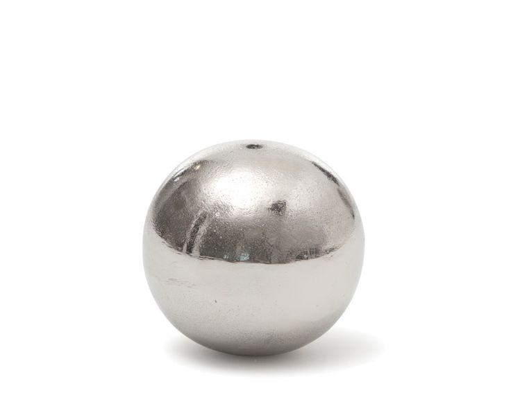 174431 - Boule décorative 10cm - Gris