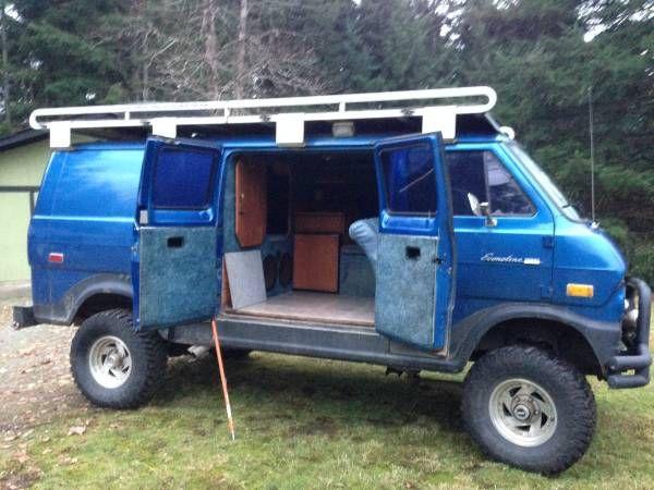 Ford Econoline 4x4 >> 1974 Ford E200 4x4 Van! | Van | Pinterest | 4x4 van, 4x4 and Ford