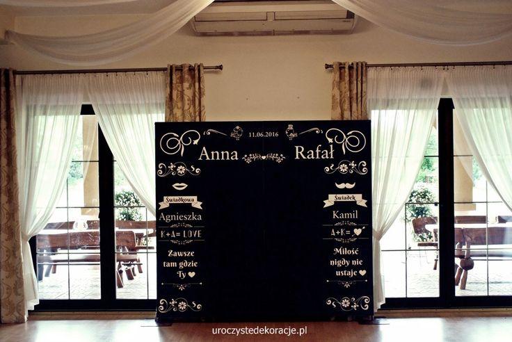 Tablica kredowa, ślub i dekoracje rustykalne, dekoracje weselne,dekoracje sal weselnych,pomysły na dekoracje weselne,uroczyste dekoracje.