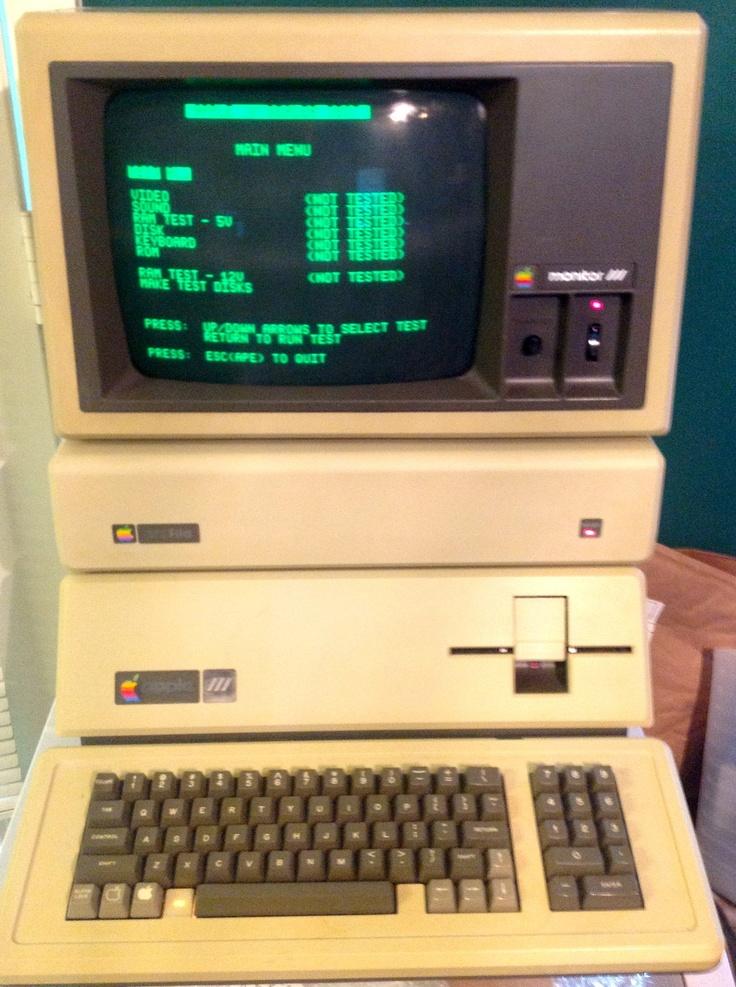 Apple III, 512k omputer.