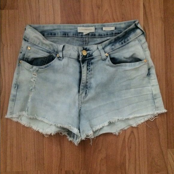 Nicki Minaj Mid Rise Denim Shorts Nicki Minaj Mid Rise Denim Shorts, Size 11/12 Nicki Monaj Shorts Jean Shorts