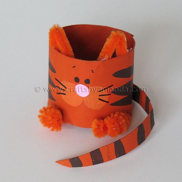 Cardboard Tube Cat: The Farm Series