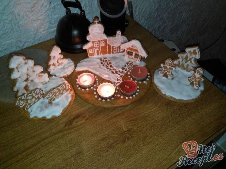 Měkké perníčky, které nesmí chybět na vánočním stole.