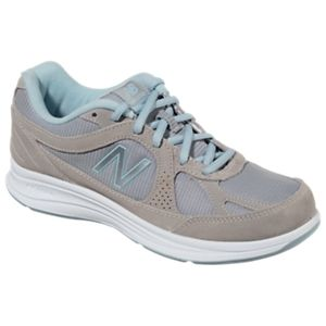 New Balance 877 Walking Shoes for Ladies - Silver - 6.5M
