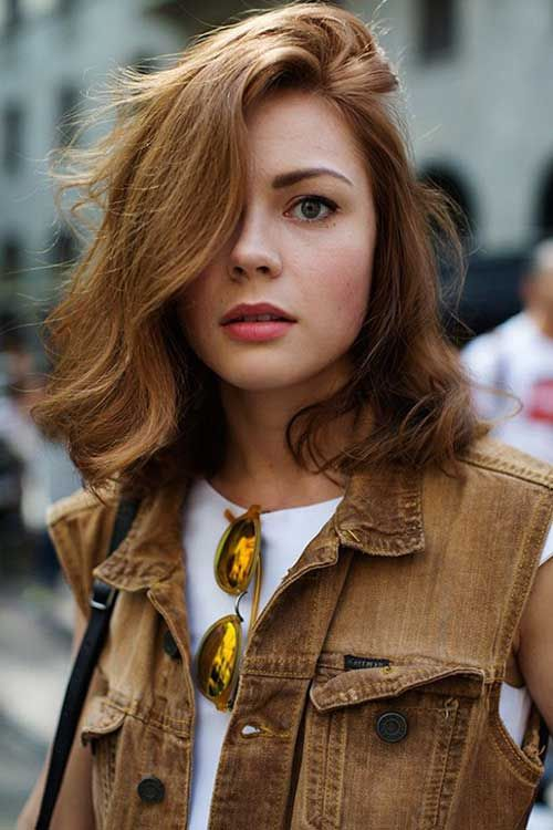 20 Good Long Hairstyles Round Face                                                                                                                                                     More