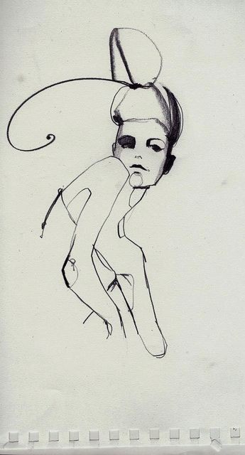 sketch by Ekaterina Koroleva, via Flickr
