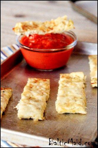 "Cheesy Cauliflower ""Breadsticks"" : Baltic Maid"
