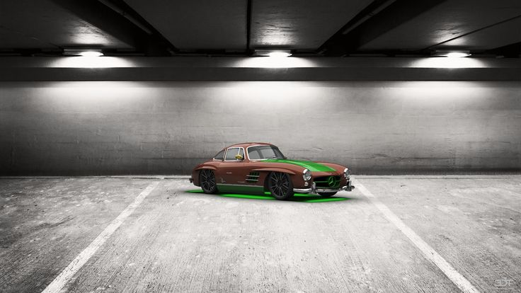 Checkout my tuning #Mercedes 300SL 1954
