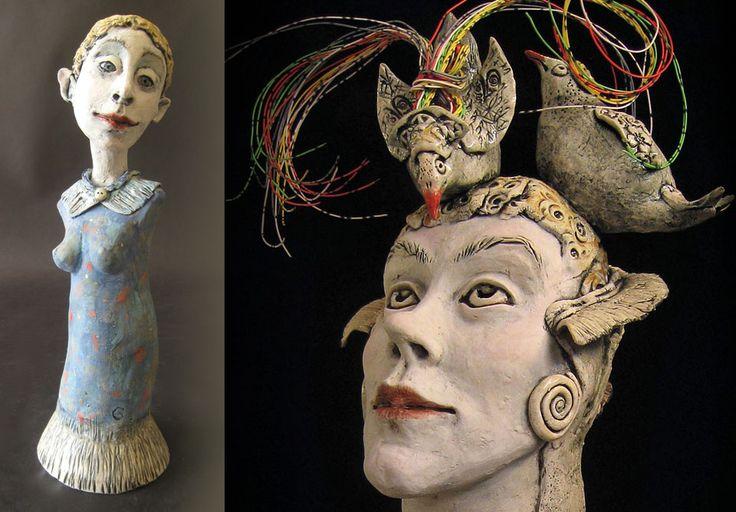 Gretel Boose--sculpture. #uxbridgestudiotour