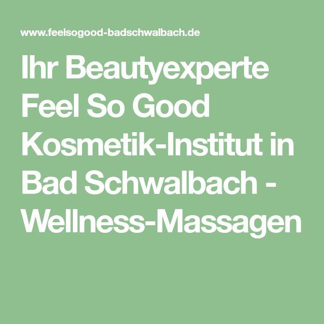 Ihr Beautyexperte Feel So Good Kosmetik-Institut  in Bad Schwalbach - Wellness-Massagen