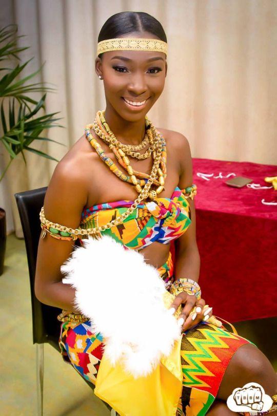 Traditional 25th birthday Ghanaian Ig maybeline.akua