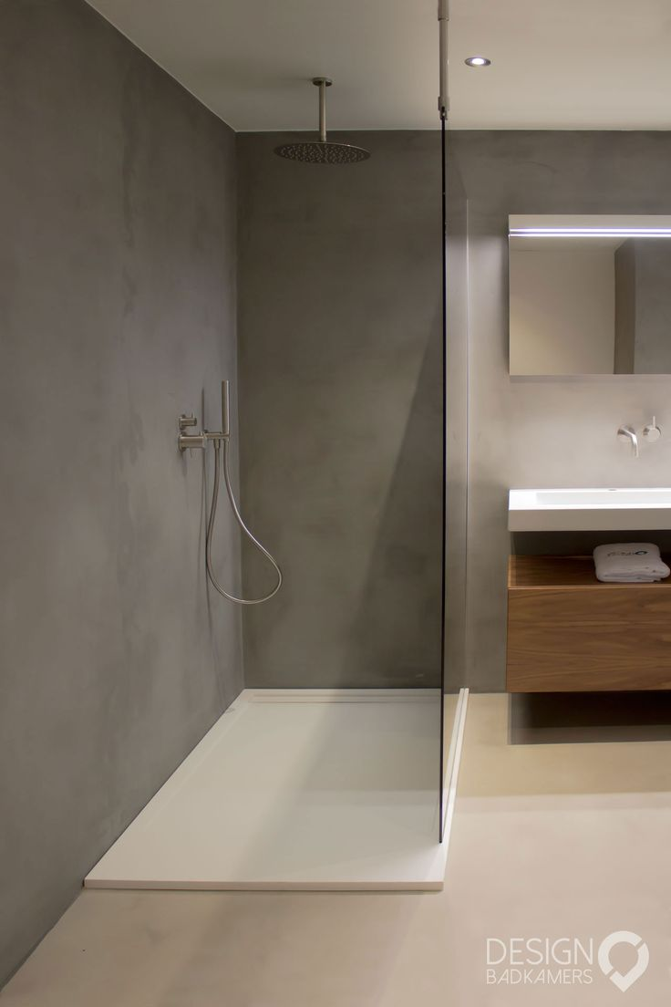 15 best Betonlook badkamers images on Pinterest   Bathroom, Modern ...
