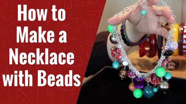 How to Make a Necklace With Beads