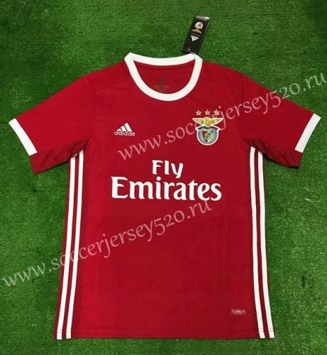fdfb3ca3c 2019-20 Benfica Home Red Correct version Thailand Soccer Jersey AAA ...