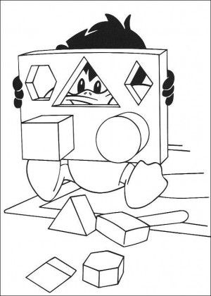 Baby Tunes coloring page 26