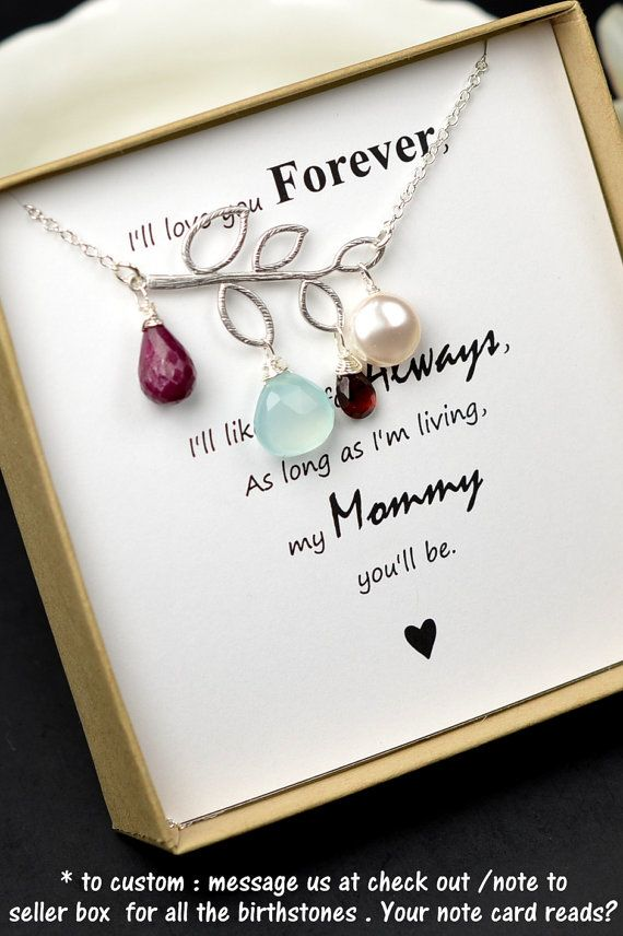 Birthstone Necklace,Custom Birthstone Jewelry,Birthday Jewelry Gift,Personalized Birthstone,personalized family birthstone,grandma necklace