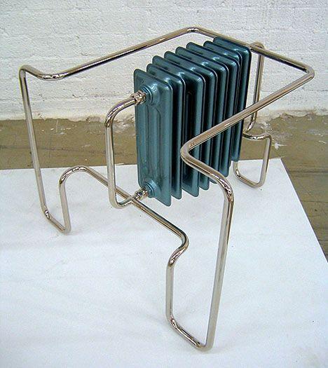 metal furniture art sculpture
