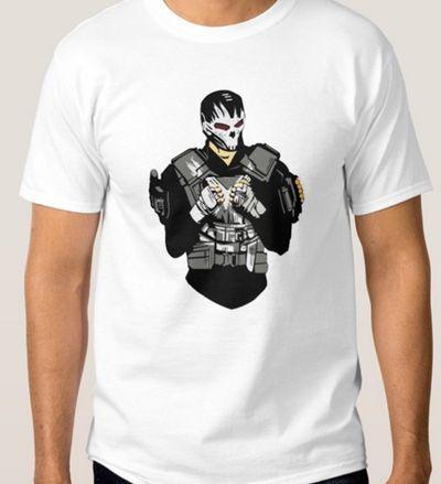 Idée Créative - Camiseta Ossos Cruzados - Marvel