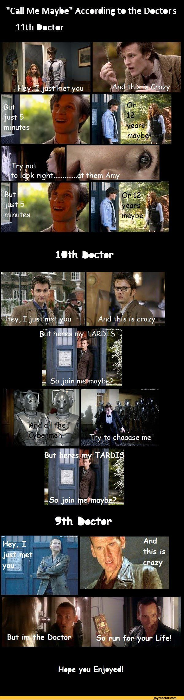 Call Me Maybe doctor who style