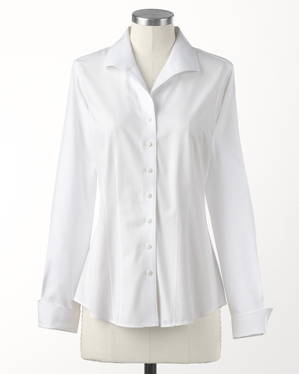 White No Iron Blouses 106