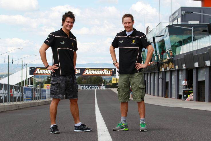 2011 Bathurst 12 Hour - Dominik Farnbacher and Allan were inseparable.