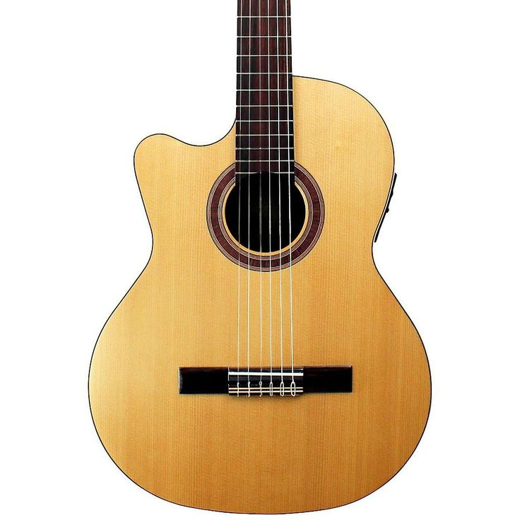 Perfect Kremona Rondo Thin Line Left Handed Classical Acoustic Electric Guitar Natural
