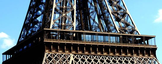 EIFFEL TOWER RESTAURANTS - 58 TOUR EIFFEL - FIRST FLOOR (Worth the money - pay to get a seat by the window, not only is the view fantastic, but the menu is better as well!)