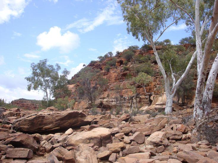 Murchison River gorge, Kalbarri, West Australia