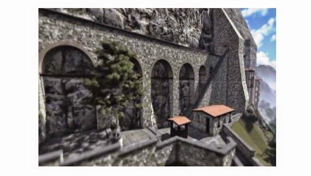 e-Pontos.gr: Η Παναγία Σουμελά στην Τραπεζούντα σε 3D!