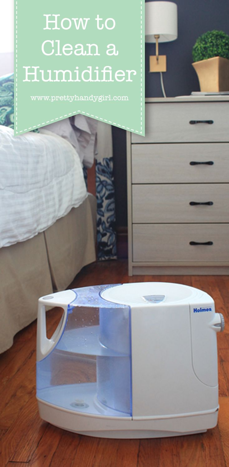 how to clean home humidifier