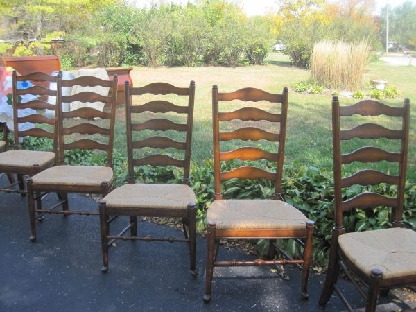 Set Of 6 Beautiful Dining Room Chairs