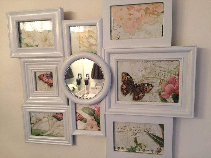 Multi Photo Frames Collage DIY