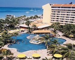 The Occidental, Aruba- Brian and I stayed on the right side of the photo.