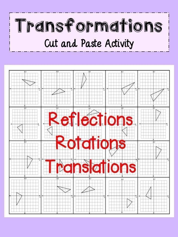 Dilations Translations Worksheet Answers Pin On Secondary Math Resources In 2020 Geometry Lessons Teaching Geometry Transformations Math
