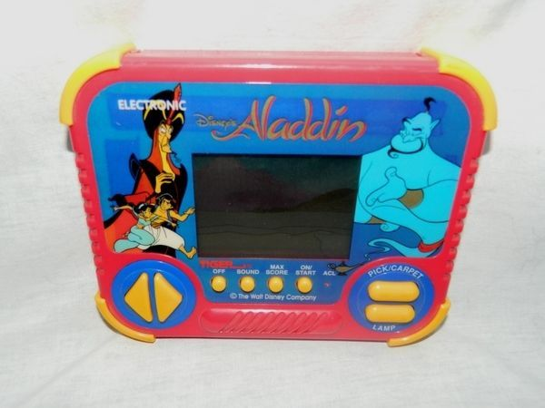 VTG 1990 Tiger Electronic  / Hasbro Disney HandHeld ALADDIN Game LCD Screen #TigerElectronics
