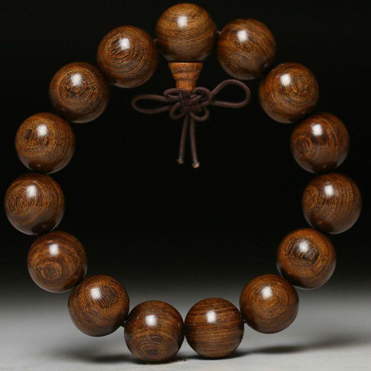 Четки браслет 18 мм бусы, браслеты мужчин и женщин любителей из чистого золота tanmu зерна золота с погруженной кокосовое