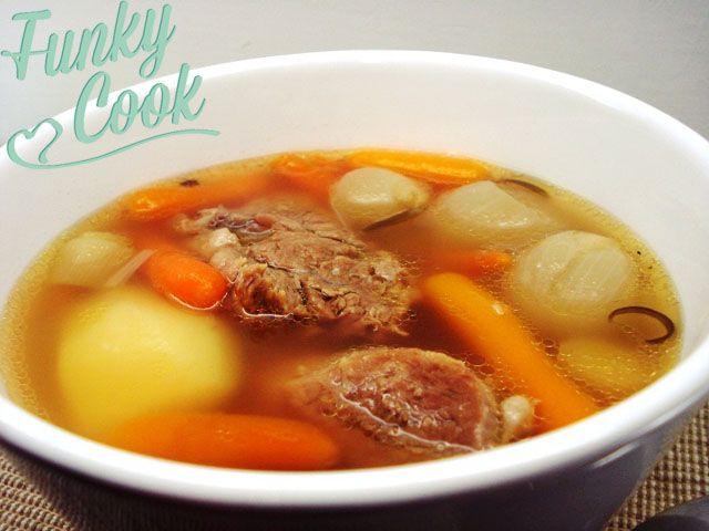 Σούπα Μοσχάρι Βραστό | Funky Cook