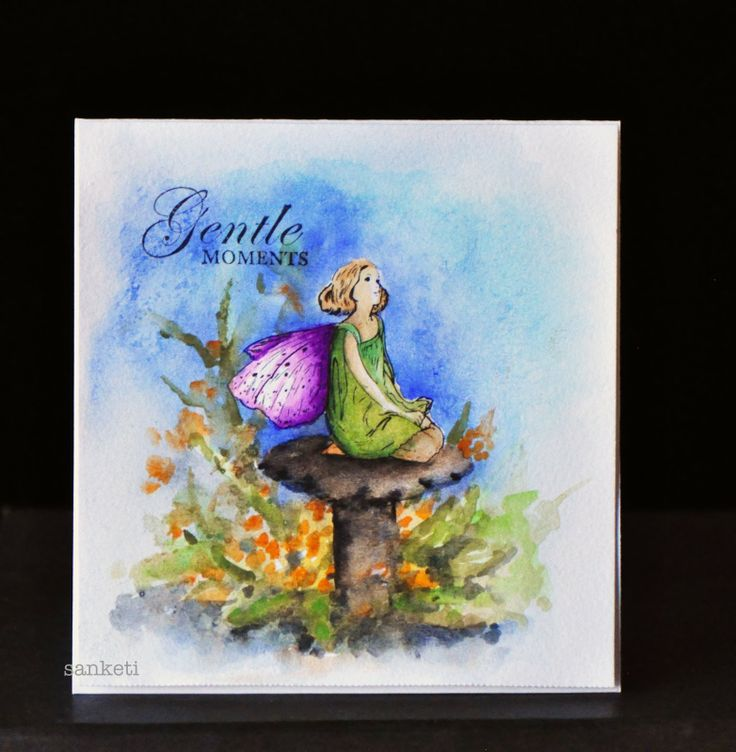 Crafter's Companion - Gentle Moments -Flower Fairies