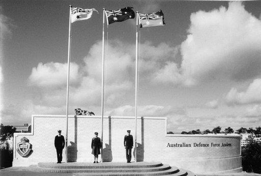 1986- ADFA in Canberra opens
