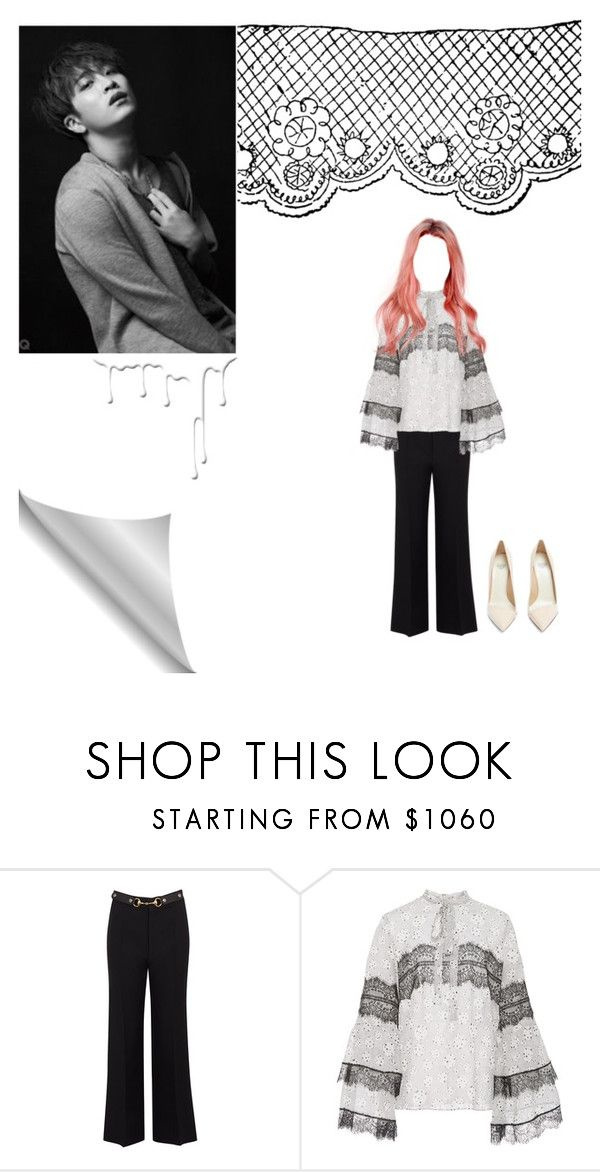"""""""Im slowly dying for you..."""" by xxkatelynn-lacolexx ❤ liked on Polyvore featuring Gucci, Giambattista Valli, Francesco Russo and Nivea"""