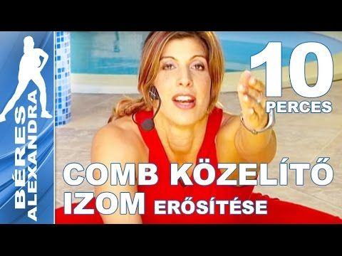 Béres Alexandra torna ||  Comb közelítő izom erősítés  || 10 perc