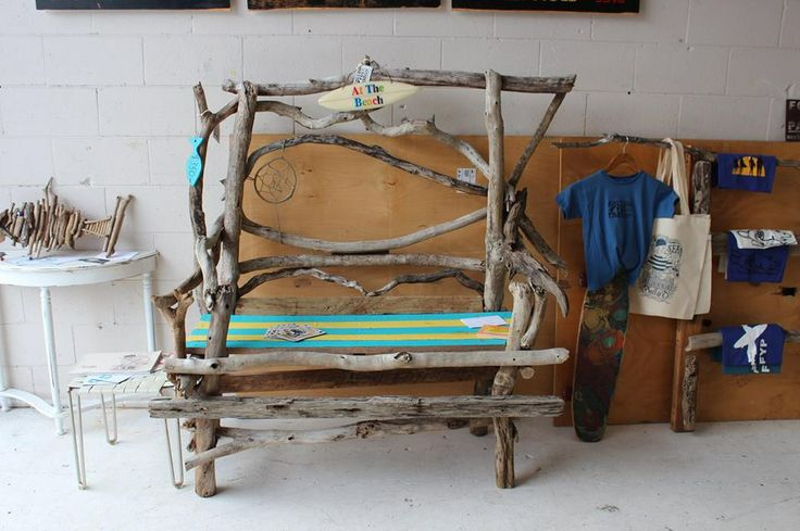 New driftwood bench set up in the miami marketa Gold coast qld. Check out the facebook page for more driftwood designs you can buy online. https://www.facebook.com/TheHippyChippy?ref=hl