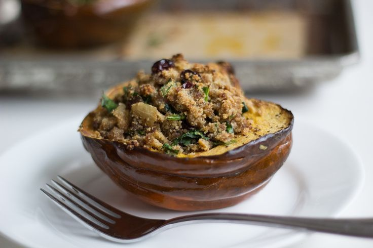 Dining with Danielle: Sausage Stuffed Acorn Squash
