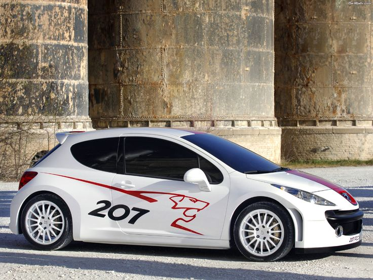 Peugeot 207 RC Sport White Edition Lion #misterauto #207RC #piecesauto
